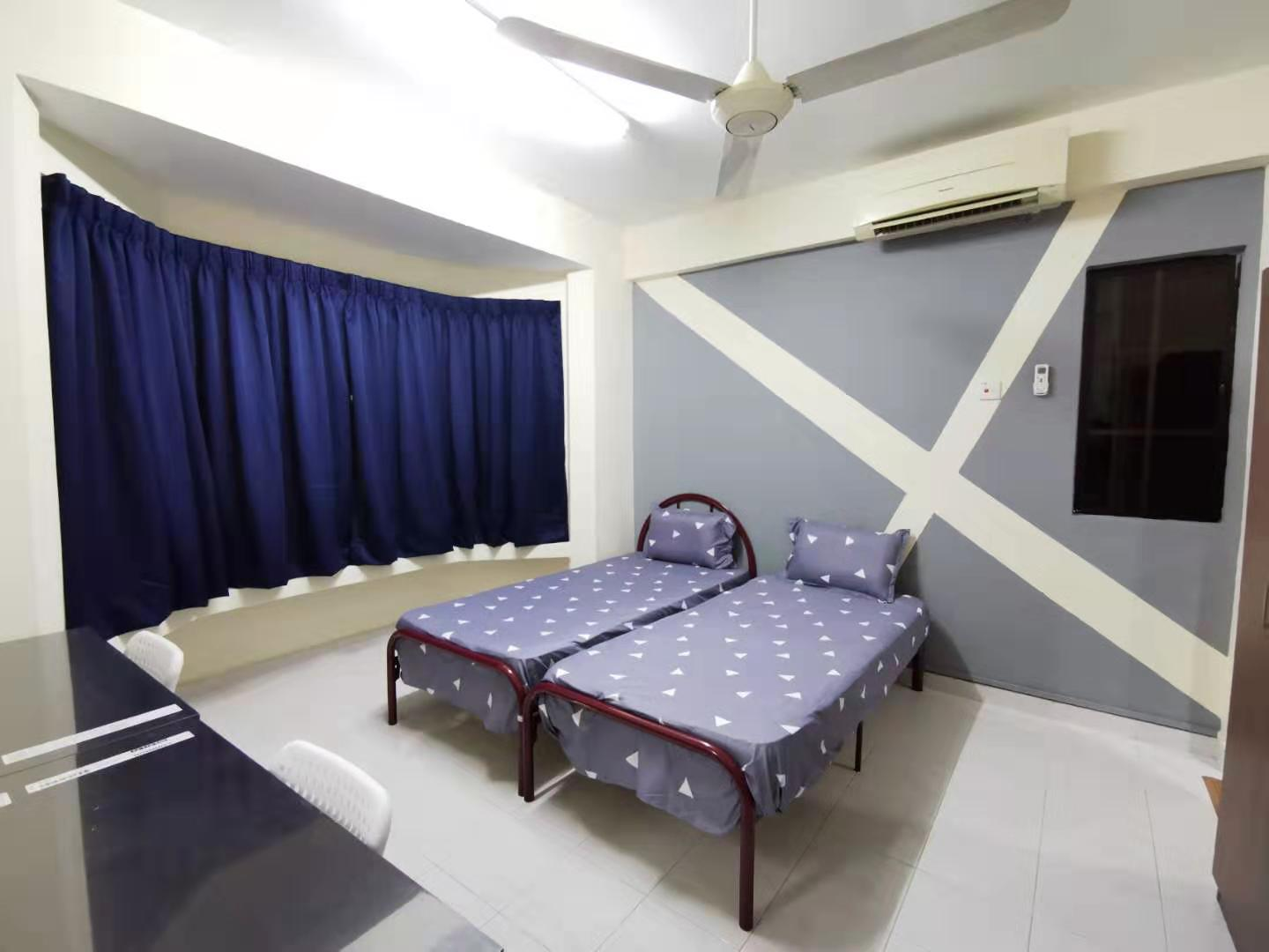 BEAUTIFUL FULLY FURNISHED Medium ROOM @ Sunway Court, Sunway, PJS 7 [Female Only Rooms]