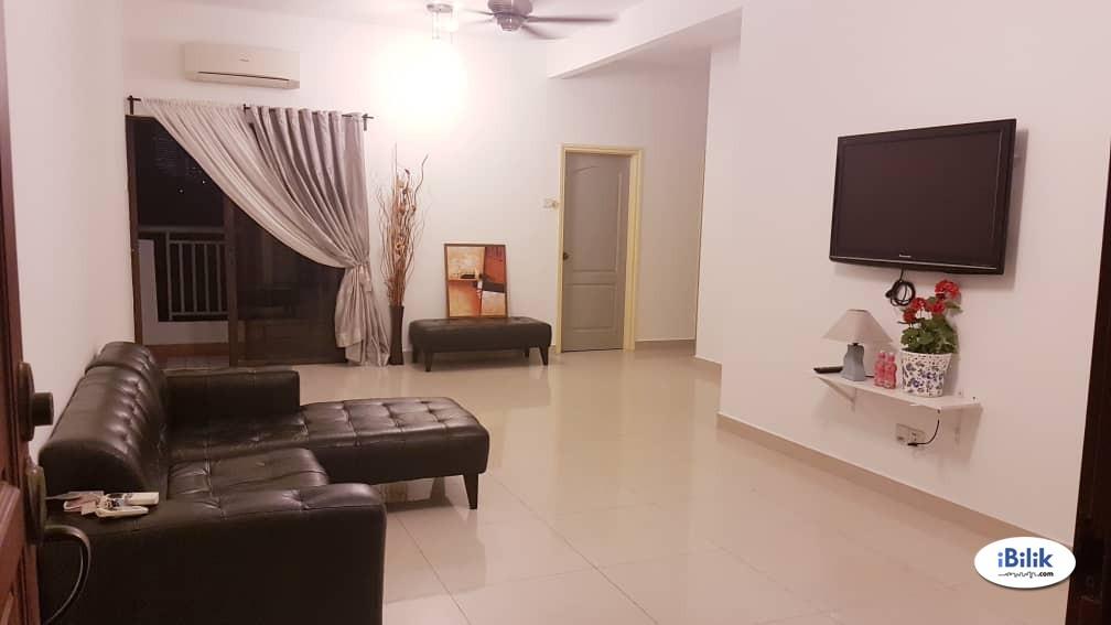 middle room at pelangi utama fully furnished